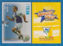Blackburn Rovers Lucas Neill Australia (F) (SO07)